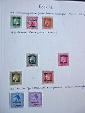 Cook Islands 1919-1949.Mint & Used.