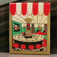 Vintage Matchbook S6 New Orleans Louisiana Hotel Monteleone Carousel Clown Star