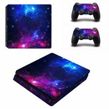 Cosmic Nebular Galaxy PS4 Slim Console Skin Vinyl Stickers Decals Covers Wrap