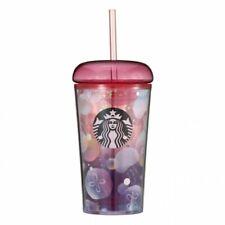 Starbucks Japan LTD Cold Cup Tumbler Jellyfish 355ml 2020 SUMMER Red New Resin