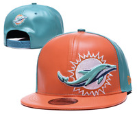 Miami Dolphins NFL Football Embroidered Hat Snapback Adjustable Cap