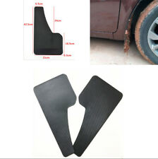 One Pair Universal Car SUV Truck Mud Flaps Mud Guard Fenders Carbon Fiber Look