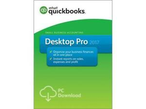 Quickbooks Pro desktop 2017 for windows (UK Version)