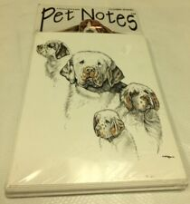 New Sealed Pet Notes Clumber Spaniel Sealed Cards And Envelopes Dog Pet Fur Baby
