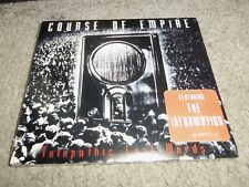 COURSE OF EMPIRE...TELEPATHIC LAST WORDS...BRAND NEW-SEALED...TVT INDUSTRY