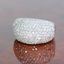 WERT 7.750,- EXCELLENTER 750 / 18 KT WEISS GOLD 2,50 CARAT IF-VS BRILLANT RING