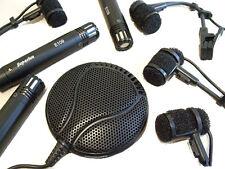 Superlux DRK-681 8pc Professional Drum Microphone set + 6 m XLR conduit