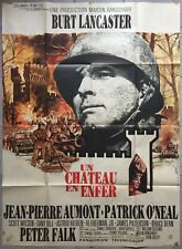 Affiche UN CHATEAU EN ENFER Castle Keep BURT LANCASTER Sydney Pollack 120x160cm*
