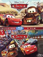 Cars 1 e Cars 2 in Cofanetto Due Film Blu Ray 2 Dischi Sigillato Come Foto N