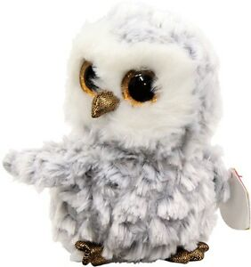 NEW Beanie Boo Owlette The White Owl from Mr Toys