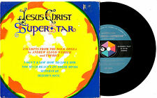 "EXCERPTS FROM - JESUS CHRIST SUPERSTAR - RARE EP 7"" 45 VINYL RECORD PIC SLV"