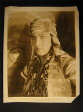 20s Rudolph Valentino The Son Of The Sheik VINTAGE 1926 MOVIE PHOTO 263H