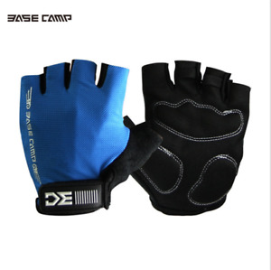 1 Pair MTB Road Bike Bicycle Half Finger Gloves Racing Gloves Riding Glove New