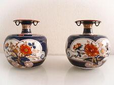 Superbe paire de vases  en porcelaine décor Imari signé Tinet à Paris vers 1840.