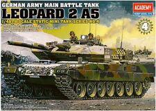Academy 1/48 German Army Main Tank Leopard2 A5 Tank Plastic Model Kit Gift 13008