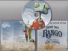 CD BO FILM RANGO JOHNNY DEPP 20T HANS ZIMMER TBE