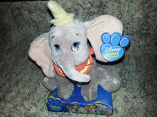 DUMBO PLUSH Baby Kids Toy WALT DISNEY Stuffed Animal Friend ELEPHANT Vintage NEW