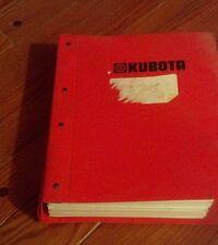 Kubota generator technical Workshop Service Repair Manual Lot