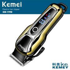 100-240 V kemei rechargeable tondeuse à cheveux professionnel tondeuse cheveux