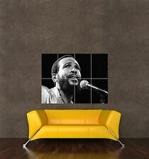POSTER STAMPA FOTO Soul Music Star Legend Marvin Gaye Cantante Musicista seb549