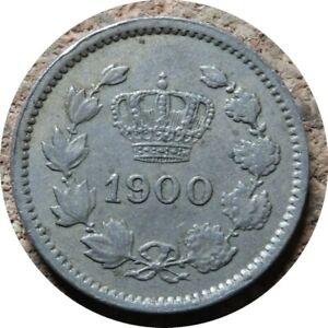 elf Romania Kingdom 10 Bani 1900    Crown