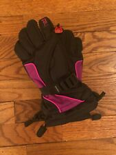 Head Ski Gloves Black Purple Pink Size 6-10 Medium