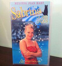 SABRINA DOWN UNDER - Melissa Joan Hart - VHS
