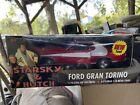 American Muscle Starsky & Hutch Ford Gran Torino 1:18 Scale Diecast Nib