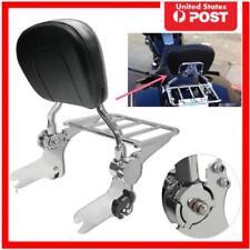 Adjustable Backrest Sissy Luggage Rack for Electra Glide FLHT FLHTC FLHTP 97-08