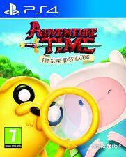 Adventure Time Finn & Jake investigaciones Playstation 4 PS4 ** GRATIS UK FRANQUEO **