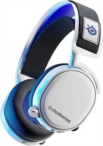 SteelSeries 61467 Arctis 7P Gaming Headset White / Blue PS5 Compatible