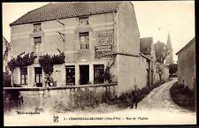 cpa 21 Véronnes-les-Petites . Rue de l'église . Côte-d'Or . Bourgogne