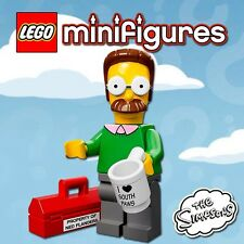 LEGO Minifigures #71005 - The Simpsons - Ned Flanders - 100% NEW - Unopened