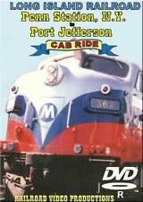 Long Island Railroad Cab Ride Penn Station to Port Jefferson DVD NEW LIRR FL-9