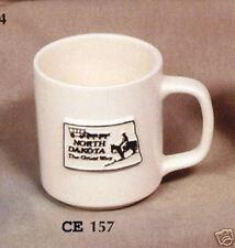 """NEW #157 Ceramic  Emporium Mold """"North Dakota Cup"""" Mold - LAST ONE"""
