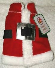 NWT Christmas Santa Dog Costume Pet Looking Good Size XS