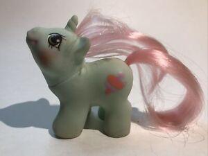 Vintage 1987 G1  My Little Pony Newborn BABY Twins Jabber MLP Unicorn Hasbro!