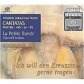 Johann Sebastian Bach : Cantatas Bwv 56, 180, 98 and 55 Vol. 1 [sacd/cd Hybrid]