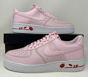 Nike Air Force 1 '07 LX Rose Pink Foam TY Plastic Bag Men's Size 10.5 CU6312-600