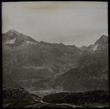 Glass Magic Lantern Slide SILVAPLANA DATED 1903 PHOTO SWITZERLAND