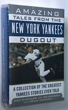 Amazing Tales From New York Yankees Dugout NEW Sealed Hardcover Book Jeter Cover