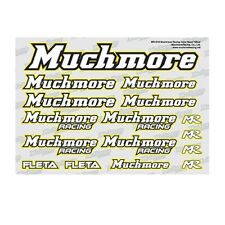 Much-More Muchmore Racing Color Decal Yellow - MR-D19