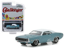 "1970 DODGE CHALLENGER BLUE ""WESTERN SPORT SPECIAL"" 1/64 CAR BY GREENLIGHT 29986"