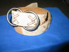 Men's BKE Buckle leather belt Oring buckle. Size M - L