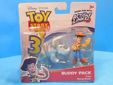 Disney Toy Story 3 Buddy Pack Waving  Woody and Trixie Action Links New!