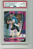 JIMMY GAROPPOLO 2020 PRIZM DRAFT PICKS PINK PULSAR PRIZM PSA 10 pop 2