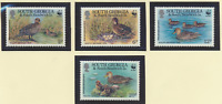 South Georgia & S. Sandwich Islands Stamps Scott #162 To 165, Mint Never Hinged