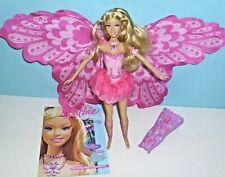 Barbie Fairytopia Elina mit Wimpern,Schmetterling,Meerjungfrau,Fee+Journal