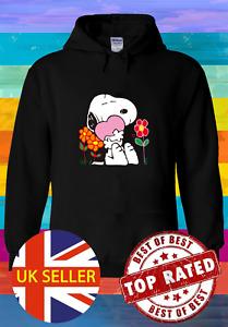 Snoopy Full Of Love Hoodie Pullover Men Women Unisex 5197