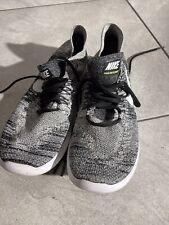Nike Free RN Flyknit Oreo Running Shoes Men's Size 10 Good